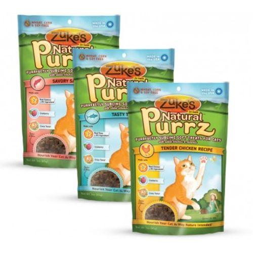 Tambien tenemos ZUKES para gatitos!  Disponibles en sabores Salmón, Pollo y Atún.  Bolsita de 85 grs - $79