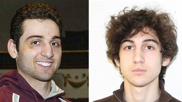 Boston Marathon Bombers - Tamerlan Tsarnaev, 26, now deceased, and his brother Dzhokhar Tsarnaev, 19, Captured