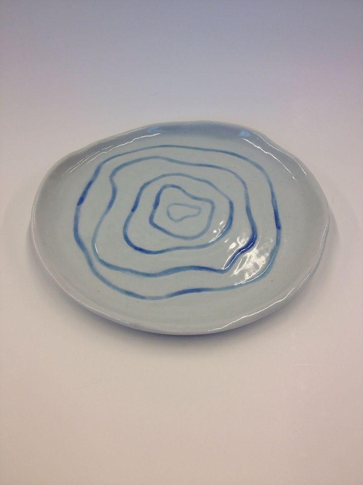Triona Dorcas- Ceramic Dessert Plate