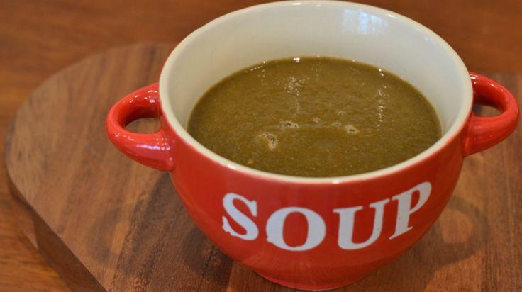 Recipe: Spinach and Tomato Soup - Planet Veggie