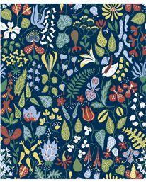 Boråstapeter Herbarium 2 10.05 X 0.53 m Rapport 64 cm 576 kr/rulle