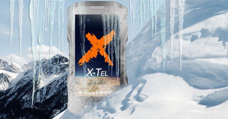 #Vriesbestendig De winter komt eraan maar dat is geen probleem meer, de X-Tel 9500  is handschoen vriendelijk.