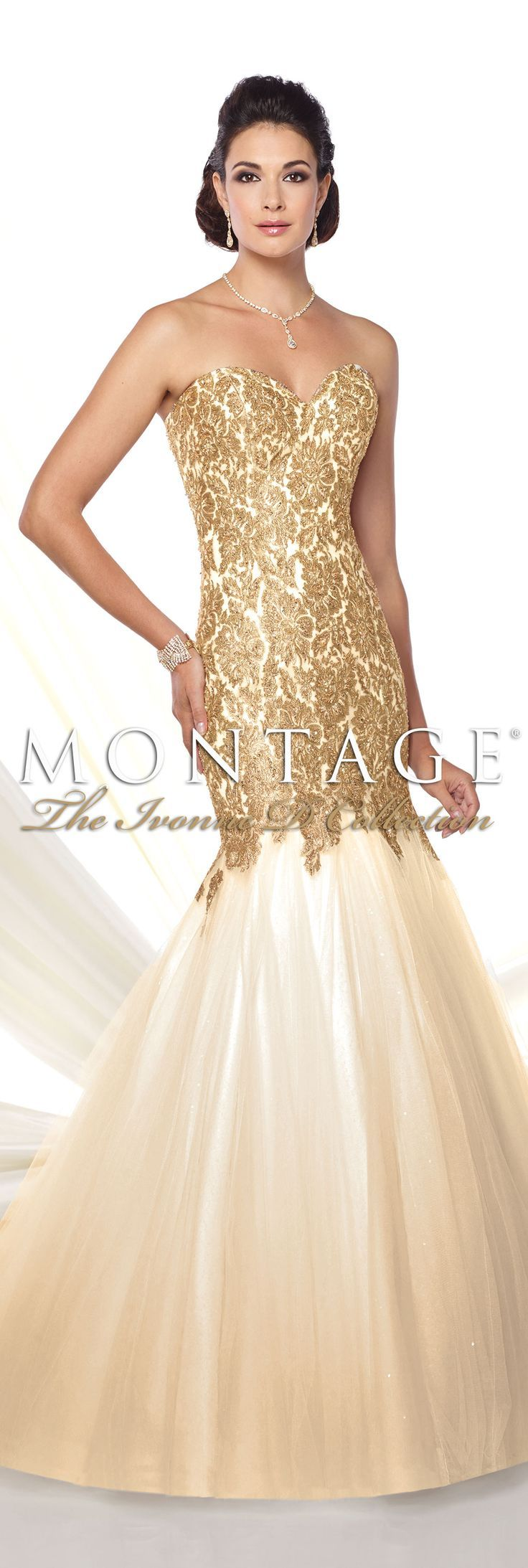 Montage The Ivonne D Collection Spring 2016 - Style No. 116D21 #eveninggowns