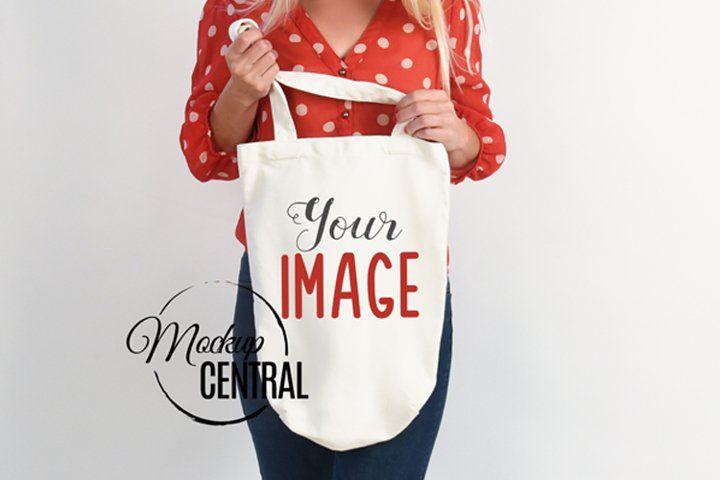 Download Canvas Tote Bag Mockup On Model Woman Jpg Mock Up 420778 Products Design Bundles In 2020 Bag Mockup Canvas Tote Bags Tote Bag