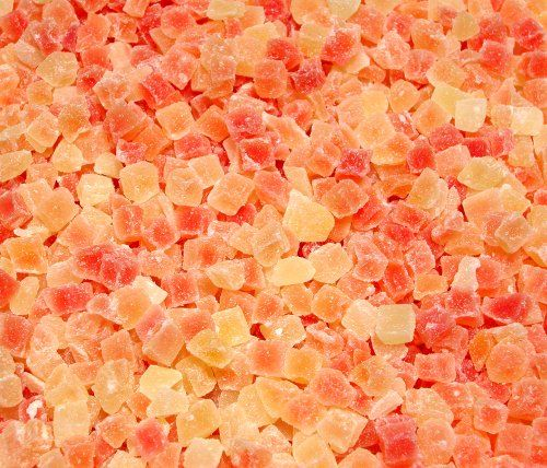 This Low Sugar No Sulfur (sulphur) Diced Papaya is a delicious tropical treat for pets. With half the sugar and calories of traditional dried diced papaya it makes a better choice for diabetic or o...