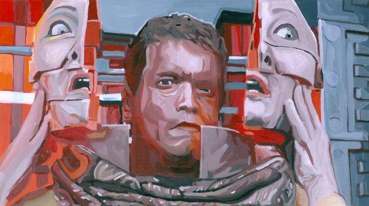 Benjamin Ferval website #painting #peinture #art #governator
