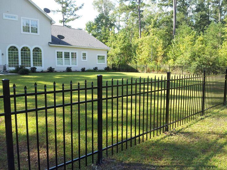 style d aluminum fence