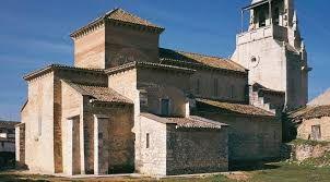 La Iglesia de San Cipriano, construida en Valladolid en el siglo X a partir de una antigua iglesia visigoda del siglo VIII. Pertenece al estilo románico, y una de sus características es su planta basilical de tres naves, junto con la bóveda gallonada de su sistema de cubiertas. Destacan sus capiteles en el plano escultórico, además de un bajorrelieve, también del siglo X.
