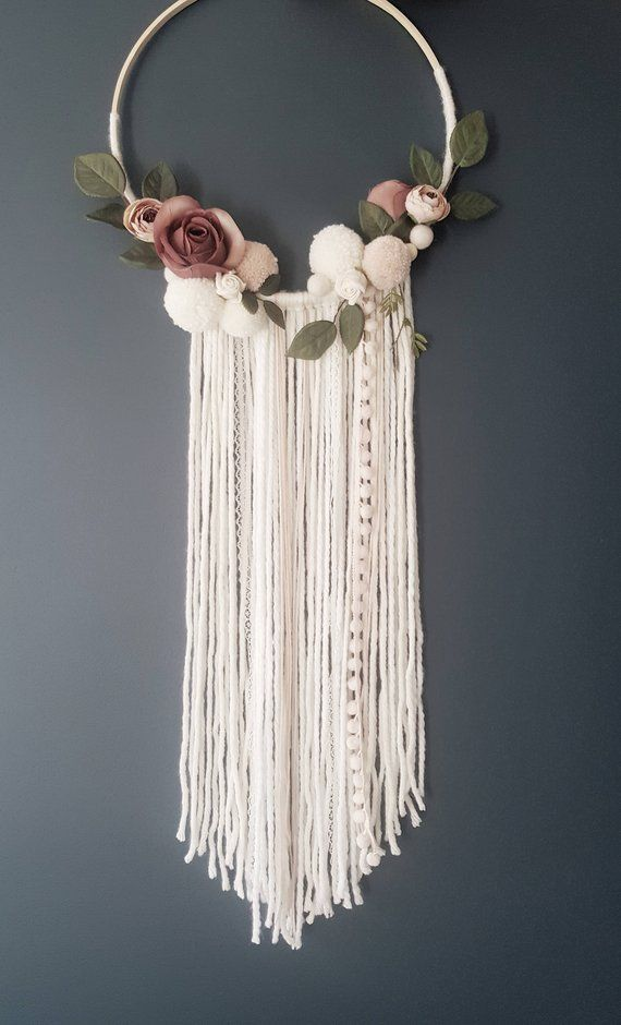 Boho Neutral Dreamcatcher