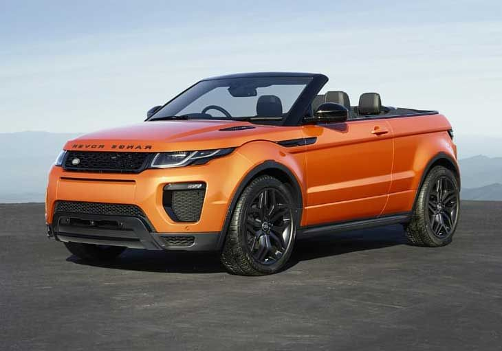 Range Rover evoque convertible 2016 is a luxury car for rent in Dubai from Proxcar Rental In Dubai,its an Car Rental Company UAE have facility of Cheap Car Rental.