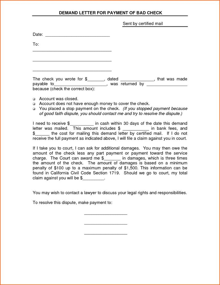 23++ Demand letter template for money owed inspirations