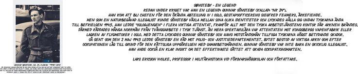 När striderna i Norge sommar 1940 slutade med tysk seger gick det norska motståndet under jorden & officerare/soldater gömde vapen & upprätthöll under ockupationen kontakten med varandra. Höst 1940 kom de att samordnas i en organisation – R-gruppen, Organisasjonen - senare Milorg. Milorg utgjordes av irreguljära förband bakom fiendens linjer, där Gunnar Sönsteby var aktionschef i centralledningen.