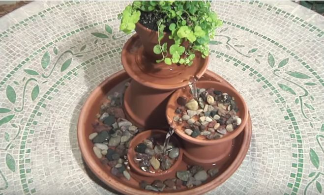 How to make a DIY terra cotta water fountain