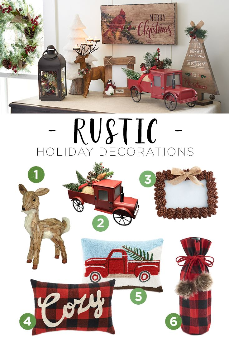 Whether you're escaping to your very own woodsy cottage for the holidays or just going there in your mind, your home can reflect the homey feel of a rustic holiday. Featured product includes: Trim-A-Tree decorations. Celebrate the season with Kohl's.