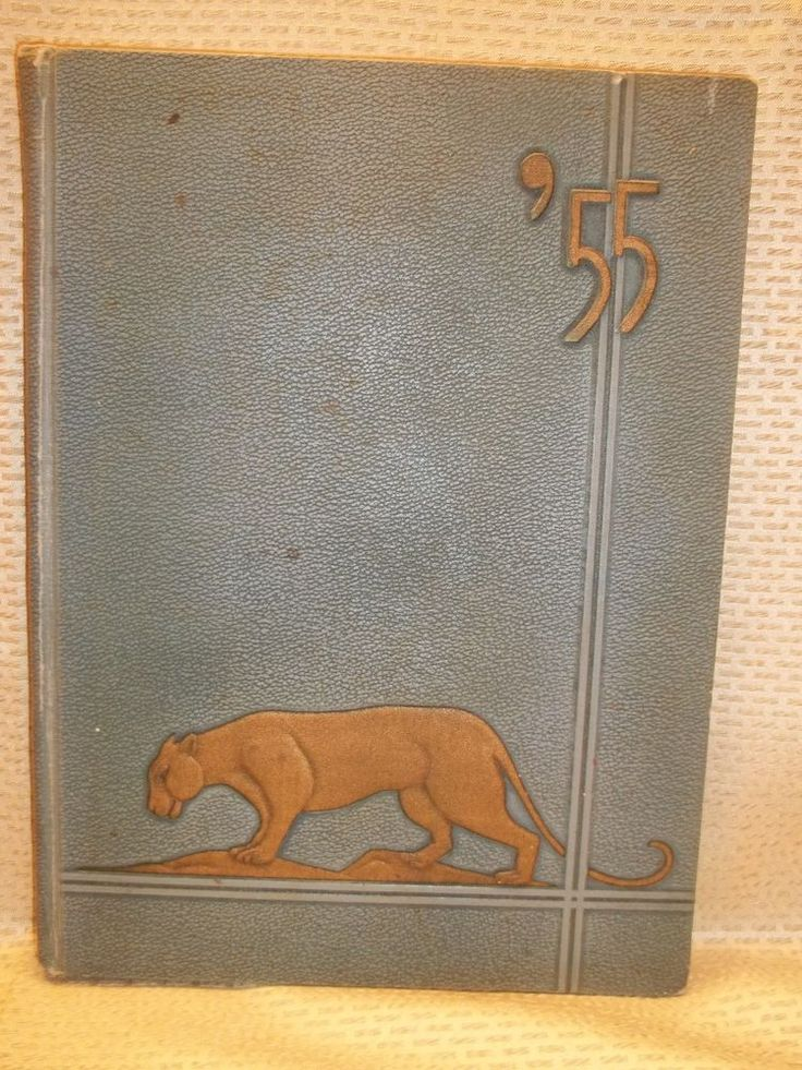 "Mobile Alabama 1955 Murphy High School Yearbook ""Mohian"" Panthers"