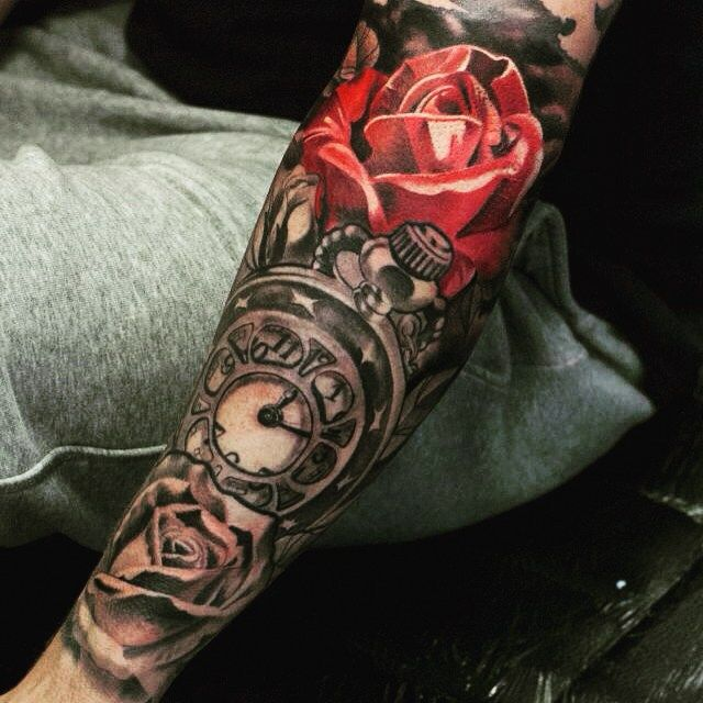 I just finished this one ...#red #inkwars #dublinink #dublin…