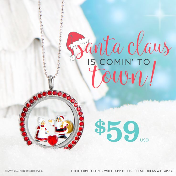 December Origami Owl special with Dreamworks! Exclusive Santa Claus is coming to town charms!!! While supplies last starting now! Free Shipping on orders over $85! https://dreambig.origamiowl.com/ #lockets #charms #holidaygifts