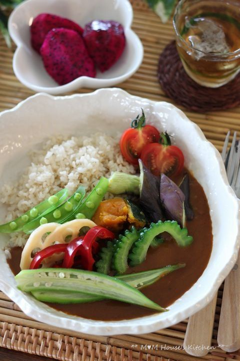Japanese Curry Rice with Rich Summer Vegetables|夏野菜カレー