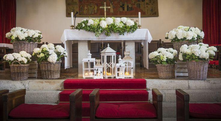 Decoracion Iglesia Bautizo ~   mardeflores com ,#Bodas #Florister?as para bodas #Decoracion de boda
