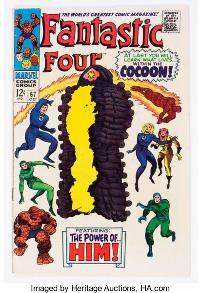 Silver Age (1956-1969):Superhero, Fantastic Four #67 (Marvel, 1967) Condition: FN....
