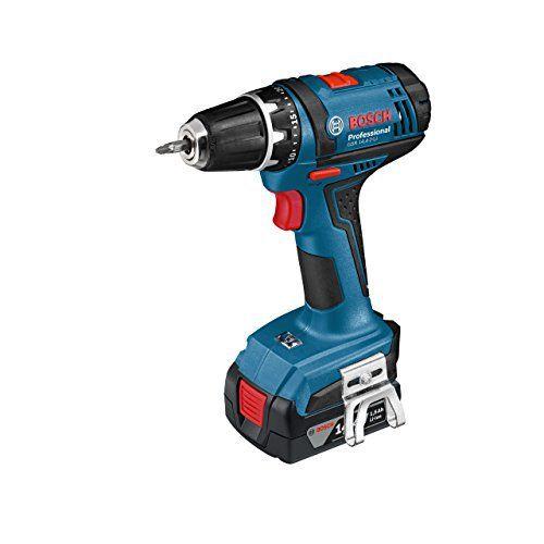 Bosch Professional 06019B7400 Perceuse-visseuse sans fil GSR 14,4-2-Li: Price:149.9 * Capacité (mAh, Ah) : 1.5 Ah * Couple (max.) :…