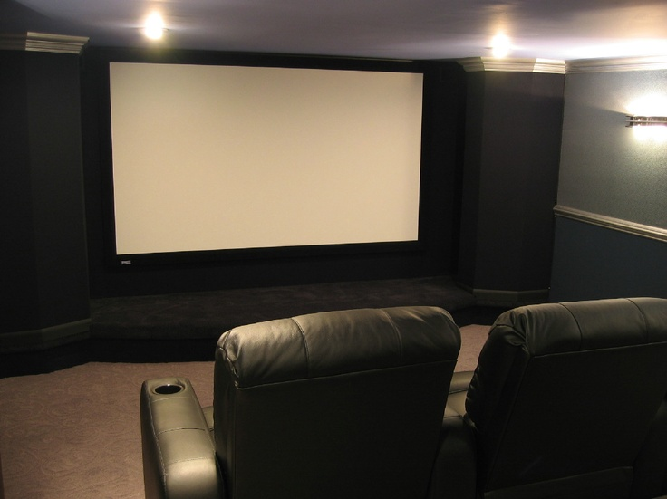 70 best Home Theatre Examples images on Pinterest | Home cinemas ...