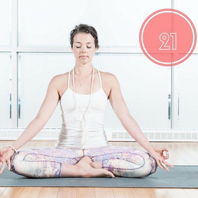 La posture de yoga méditatif : Sidhasana (posture parfaite) nous aide à maintenir l'esprit focalisé. Elle est souvent employé pour la pratique de Pranayama et de méditation. #sidhasana #yogainspiration #yogachallenge #yogapose #yogadaily #pranayama #meditation