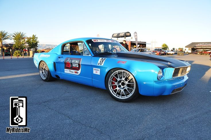Budget Build Pro-touring 1966 Mustang Fastback competed in the 2012 #OUSCI