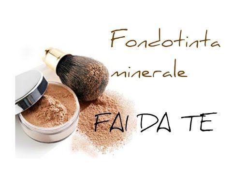 Come fare un fondotinta minerale; DIY mineral foundation; FAI DA TE - HOMEMADE - - YouTube