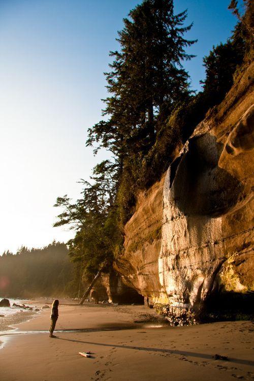 Mystic Beach, Vancouver Island | Photo by Ian Fryer | @explorecanada #sponsored