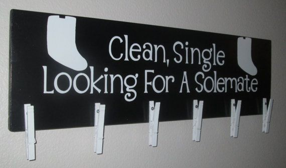 Clean Single Looking For A Solemate by PalletBoutique on Etsy, $30.00