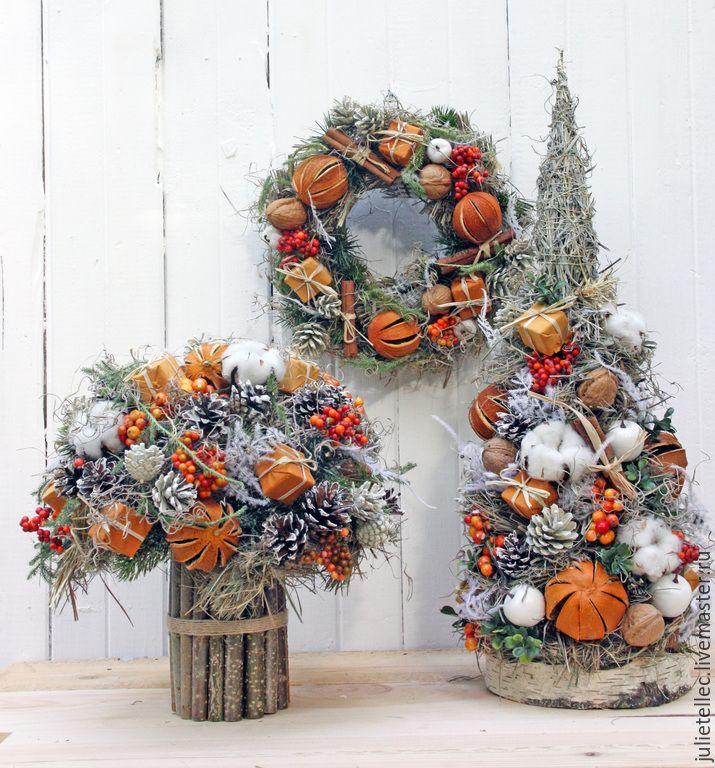 Композиции букетов к рождеству, цветы интернету минск