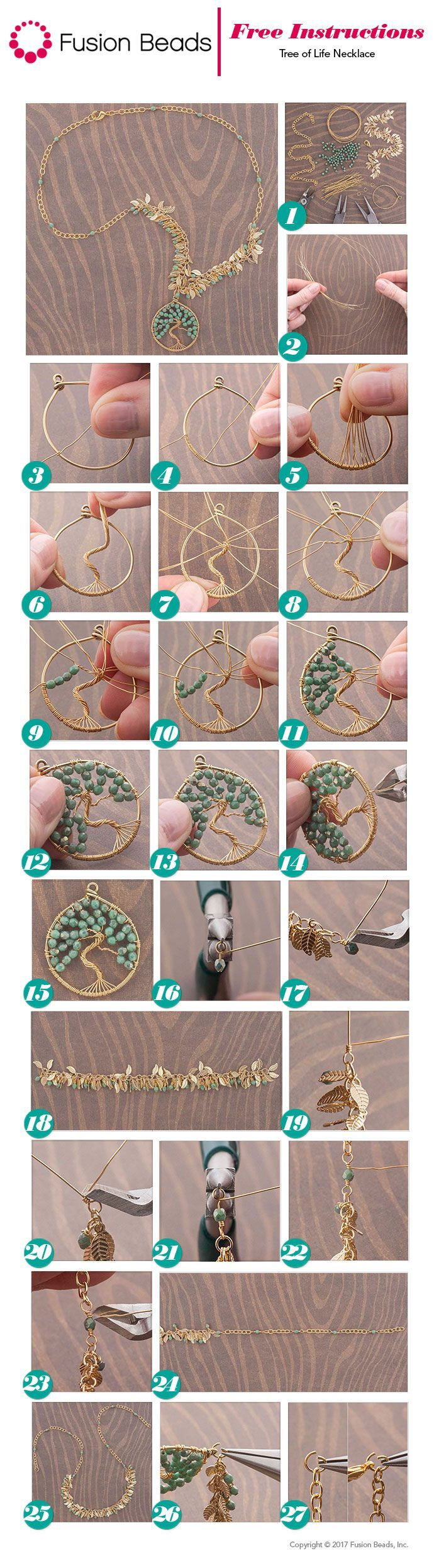 Tree of Life Necklace Inspiration Project