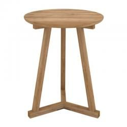 Ethnicraft Oak Tripod Side TableThe Block Shop - Channel 9