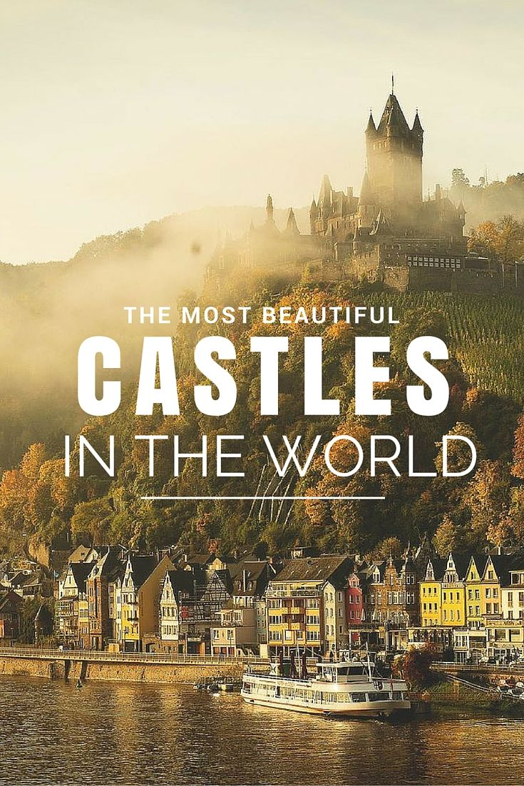 Check out some of the most BEAUTIFL fairy tale castles in the world!! Click through to read more!