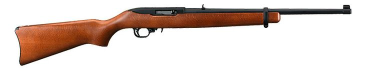 Hub went out & picked up one of these on sale today -- Ruger 10/22 Carbine Semiauto Rifle. Now to find the right scope for my cross-dominant eye self!