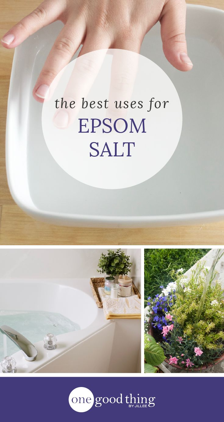 The 10 Most Useful Things You Can Do With Epsom Salt - One Good Thing by Jillee