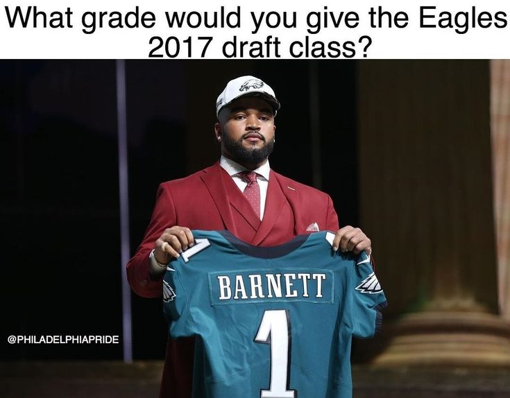 Draft class included Derek Barnett Sidney Jones Donnell Pumphrey Shelton Gibson Mack Hollins Nathan Gerry Rasul Douglas and Elijah Qualls #Eagles #FlyEaglesFly Learn more Philadelphia Eagles  https://clssport.com/category/nfl/philadelphia-eagles/ or @eaglesfans247 on Bio #eaglesfans247 #phillyfootball #eaglenation #PhiladelphiaEagles #EaglesNation #EaglesFootball #eaglesapparel #eaglesclothing