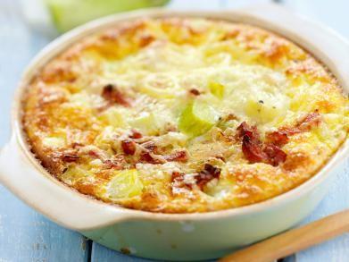 Quiche met prei, eieren en gruyère (Libelle Lekker!) (niet onze favoriet, maar wel goed te maken)
