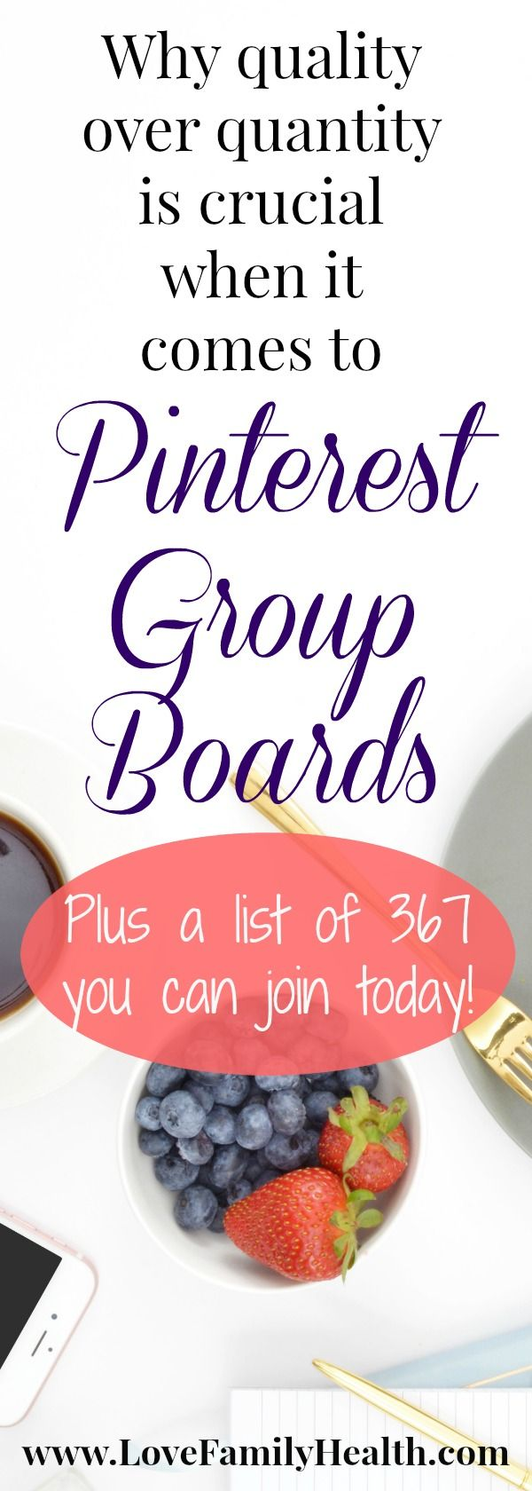 #Blogging Why Quality over Quantity is crucial when it comes to Pinterest Group Boards