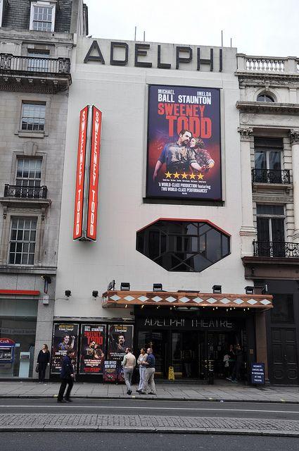 Adelphi Theatre, the Strand, London.