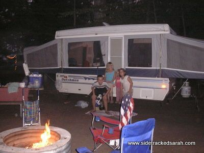 Camping tips for families...different s'mores recipe