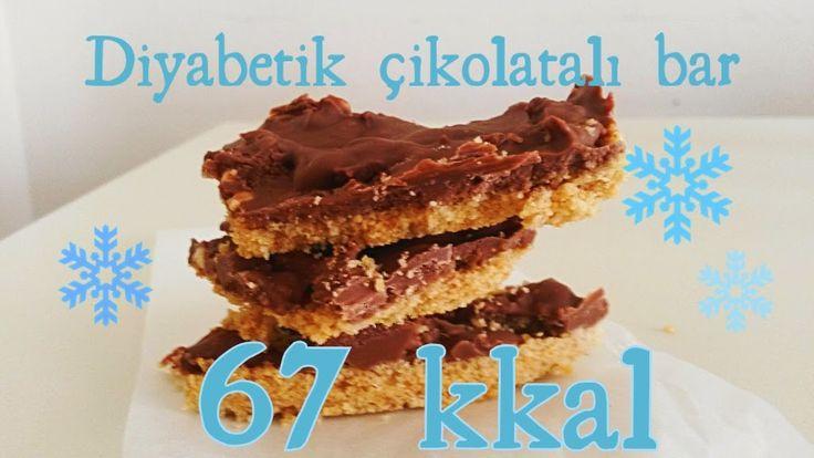 Şekersizi Daha Tatlı: Diyabetik Çikolatalı Bar