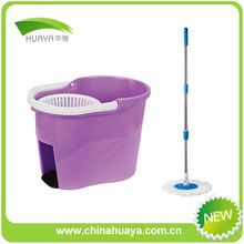chenille cleaning mop spin super mop and bucket set H003
