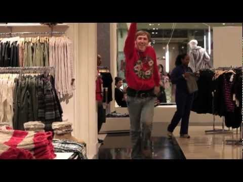 Guy dancing with an ipod in public! It will cheer you up I promise!  I love him :)