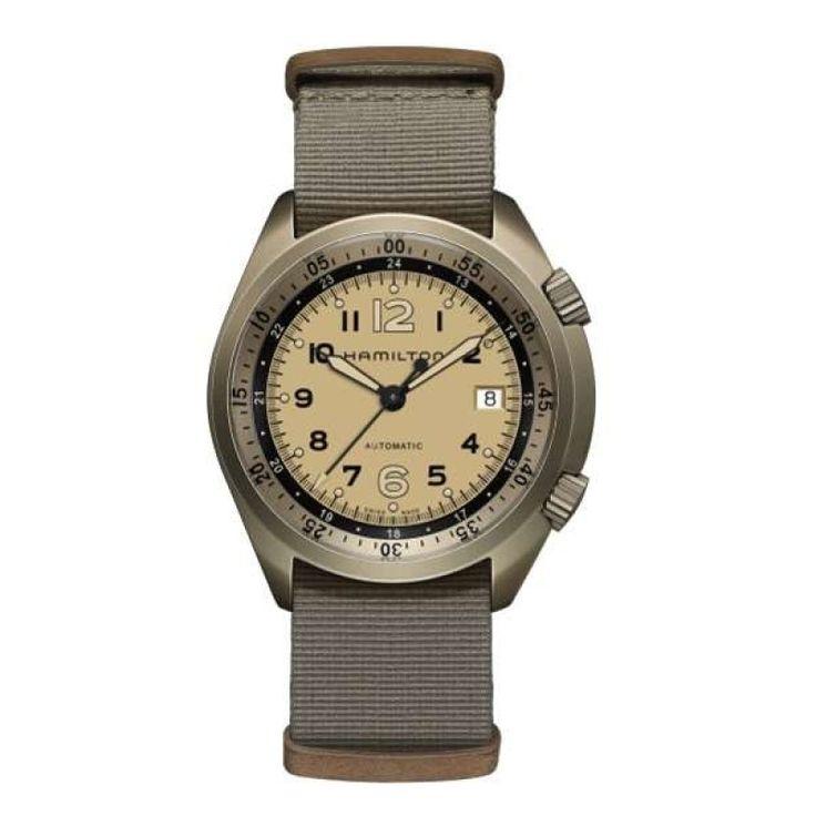 Reloj hamilton khaki pilot pioneer aluminium h80435895
