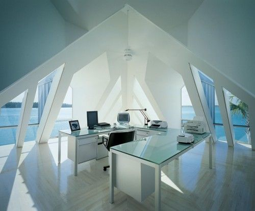 Clear, Bright And Modern Office Interior