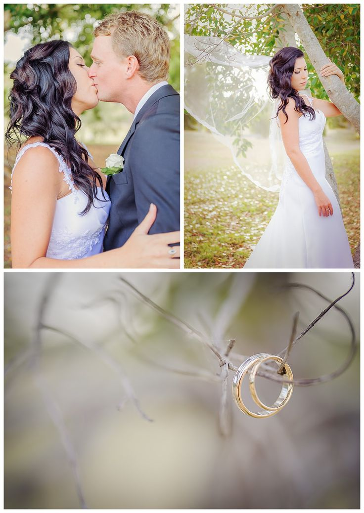 Loving this stunning Sanctuary Cove Spring Wedding #bride #weddingrings #golfcoursewedding