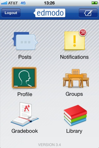 Teacher App- Edmodo | Award-winning Edmodo for iPod touch, iPhone, and iPad makes it easy for teachers and students to stay connected and share information. Use your iOS device to send notes, submit assignments, post replies, and check messages and upcoming events while away from the classroom.