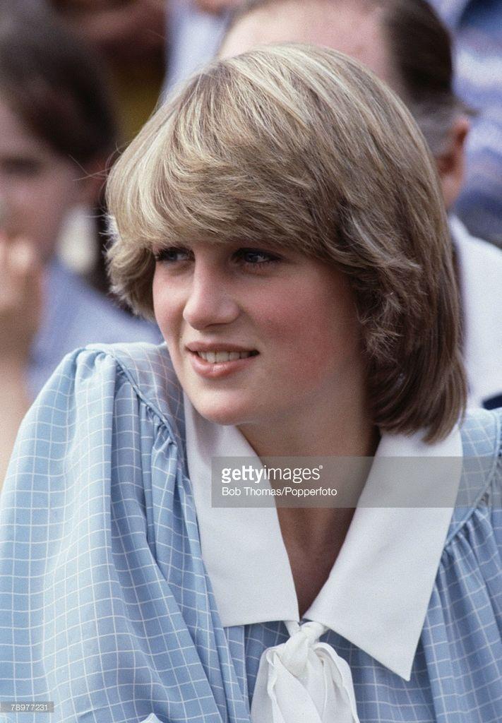 British Royalty, Brockenhurst, England, 1982, Portrait of Princess Diana